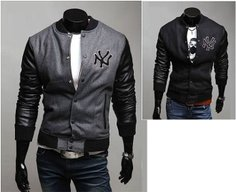 Men's baseball style jacket under 40