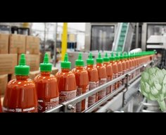 'How Sriracha Is Made', A Video Tour Through the Rooster Sauce Factory