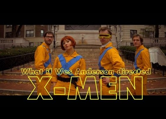What if Wes Anderson directed X-Men?
