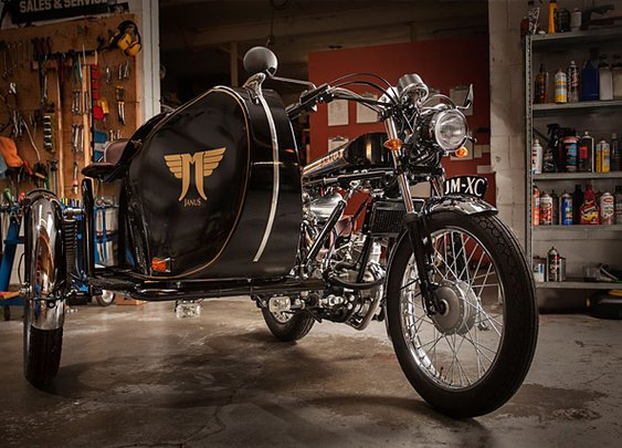 'Flying Dutchman' – Janus Motorcycles | Pipeburn.com