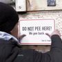 Hamburg walls use hydrophobic paint to pee back