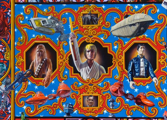 The $200K Star Wars Painting No One Will Ever Buy | WIRED