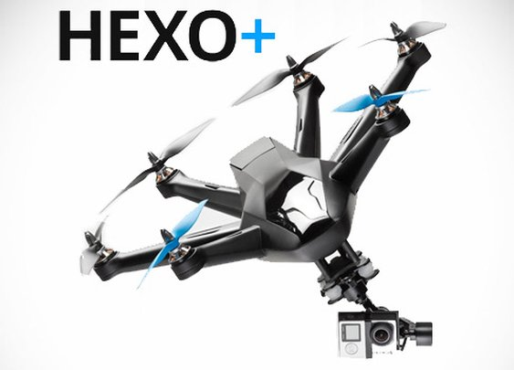 The Hexo+ Is An Autonomous Flying Camera