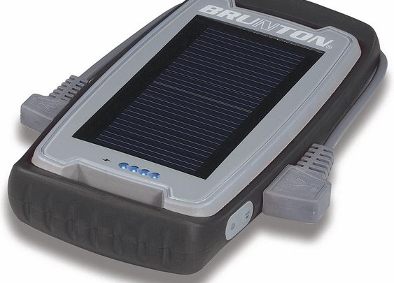 Camping this Spring? Bring this along. Brunton Freedom Solar USB Charger & Power Pack