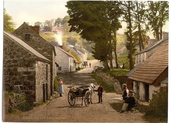 Fantastic 120-Year-Old Color Pictures of Ireland | Mental Floss