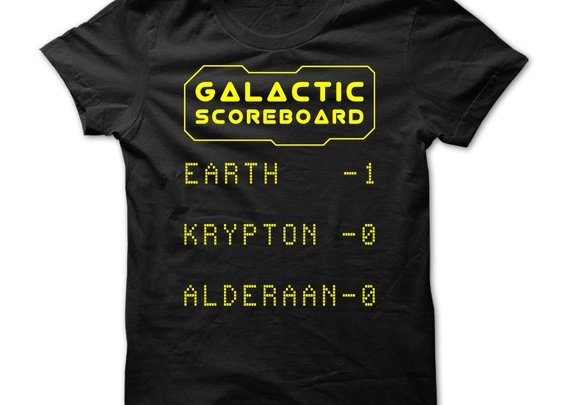 Galactic Scoreboard - Celebrate Earth Day! She is Number One