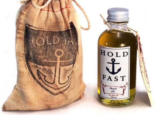 Hold Fast Beard Oil 2oz. Handcrafted in the USA by SoapboxGypsy