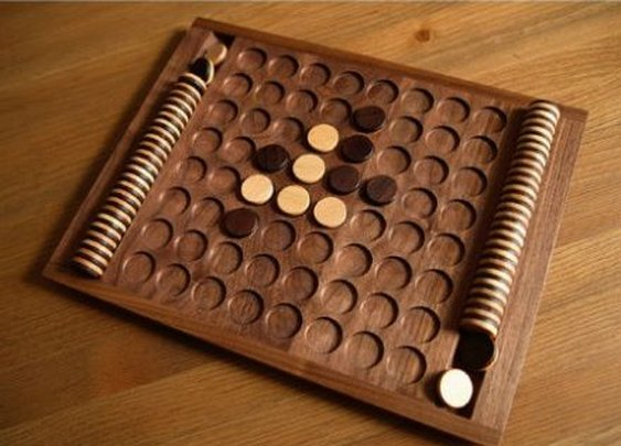 Wooden Othello board | Gator Country | Pinterest
