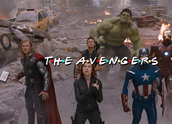 Friends Intro The Avengers Edition HD - YouTube