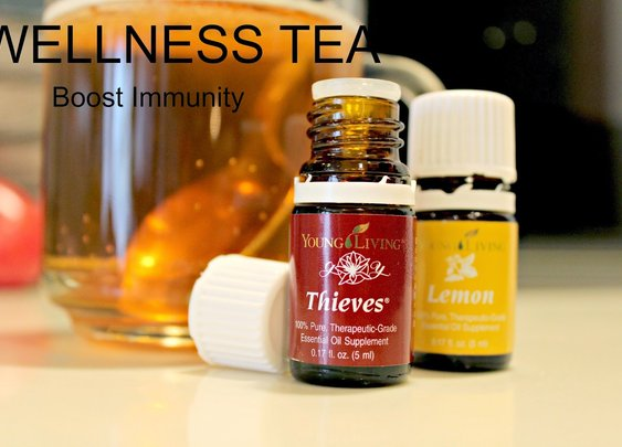 Boost Immunity with Wellness Tea for Spring