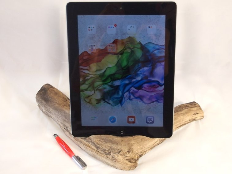Driftwood docking station for iPad, Kindle Fire by Hope & Grace Pens