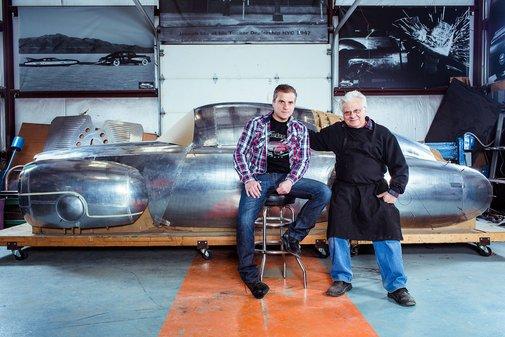 Father-Son Team Resurrects a Strange, Forgotten Concept Car