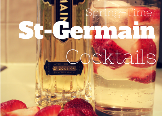 Springtime St Germain Cocktails