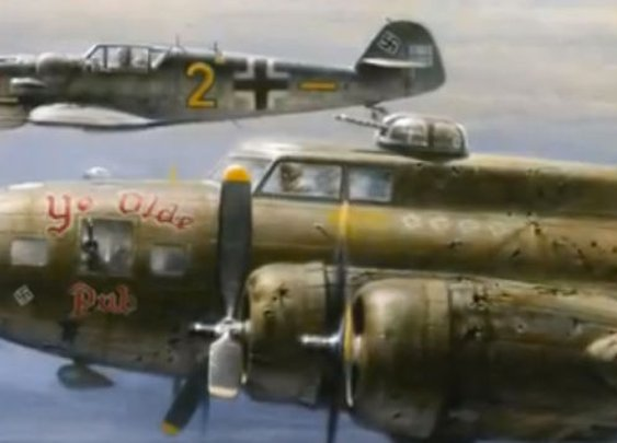 German pilot in WWII spared an American B-17 pilot over Germany only to reunite 40 years later and become fishing buddies