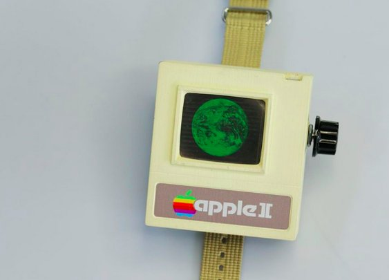 Custom 1977 Apple II Watch