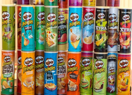 Ranking Every Pringles Flavor - Reviews of All 29 Pringles Flavors