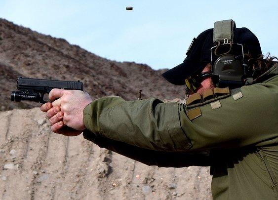 Training with Instructor Zero: Shot Show 2015 - YouTube