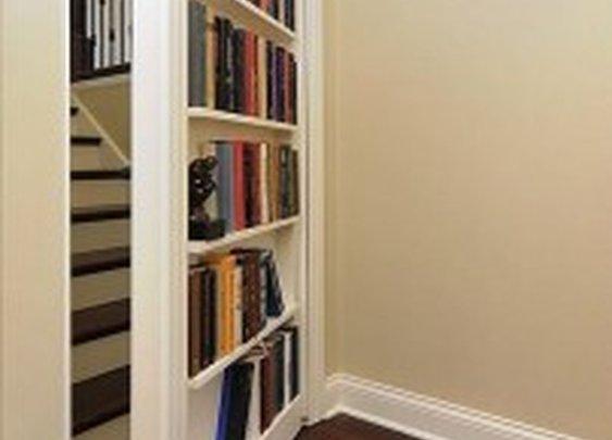 Secret Fake Bookcase Door | StashVault