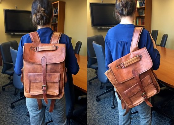 Satch & Fable Laptop Backpack Review – $269 | BestLeather.org