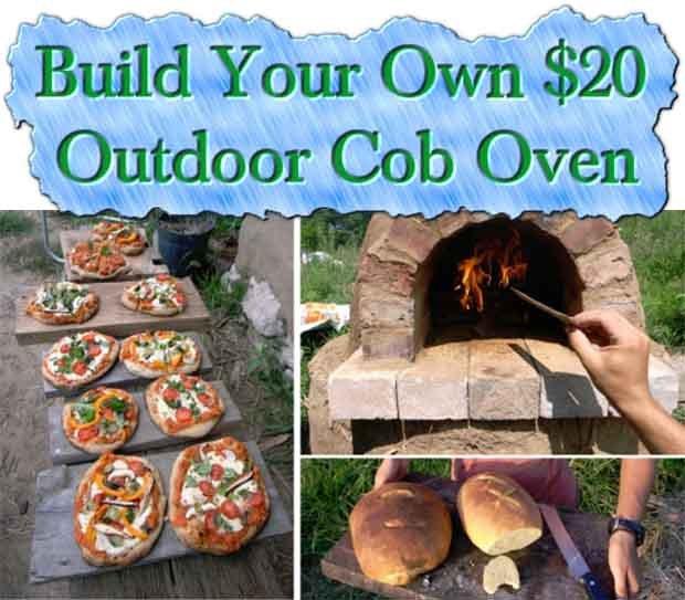 how to build your own 20 outdoor cob oven gentlemint