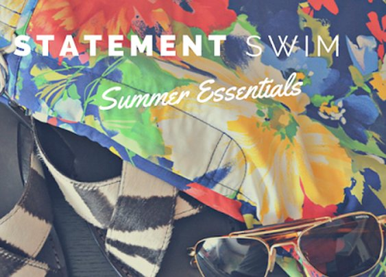 Men's Summer Essential: Statement Swimwear