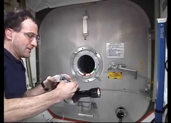 Gyroscopic Platform in Microgravity - YouTube