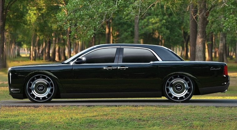 The new Lincoln Continental has got to be the best looking classic car that's being brought back. Suicide doors and everything!
