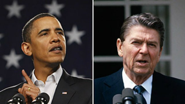compare and contrast the leadership styles of ronald reagan and obama Recently, readers of forbescom were treated to a comparative analysis of the reagan and obama economies with the authors of these reviews reaching very different conclusions.