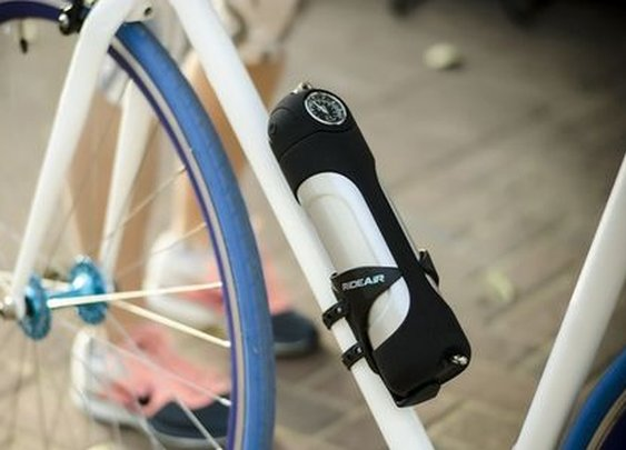 RideAir takes the hard work out of roadside bike tire-pumping