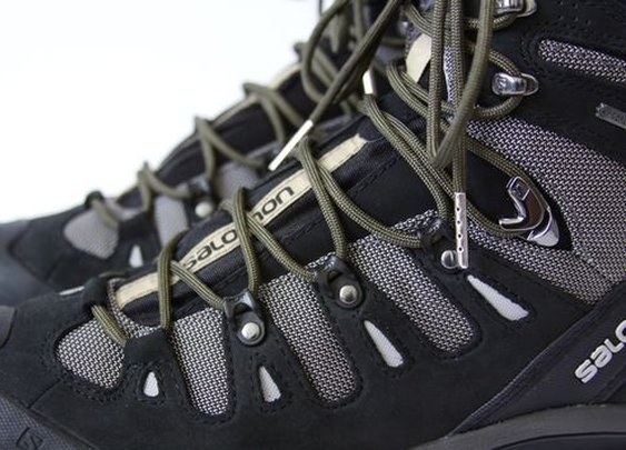 Survival Laces put a fire starting kit on your feet