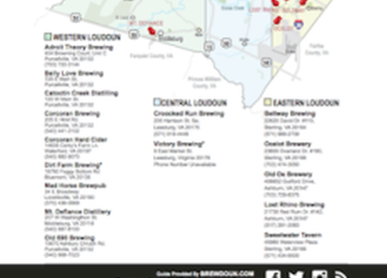 The Active List of Loudoun County Breweries Distilleries and Cideries - by Region » Loudon County VA Breweries | Distilleries and Cideries
