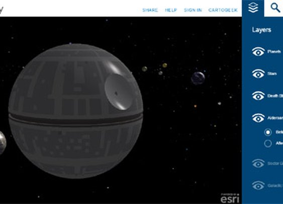 Star Wars Galaxy 3d Map