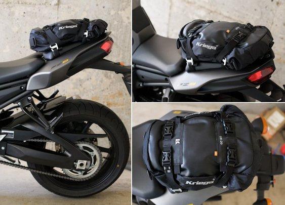Kriega U.S. 20 Tail Bag | Essential Moto | Motorcycle news & reviews
