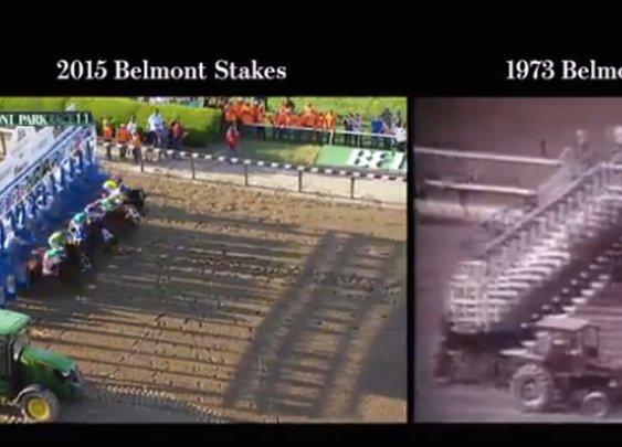 This Is What It Would Look Like If American Pharoah Raced Secretariat