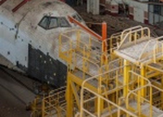 Stunning images of abandoned Soviet space shuttles   Ars Technica