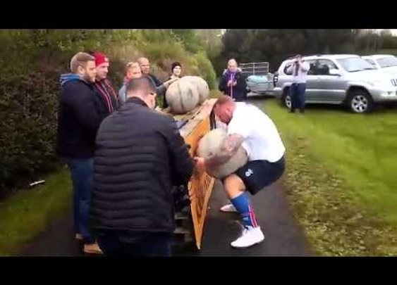 'Game of Thrones' Actor Hafthor Bjornsson Wins Iceland's Strongest Man Contest for the Fifth Year in a Row