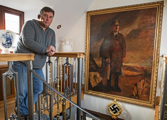 The man who sleeps in Hitler's bed | Alex Preston | World news | The Guardian
