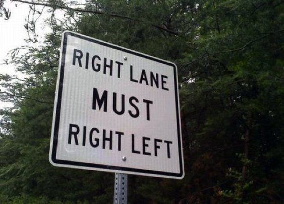 Funny Sign Mistakes / Find Signs Blog
