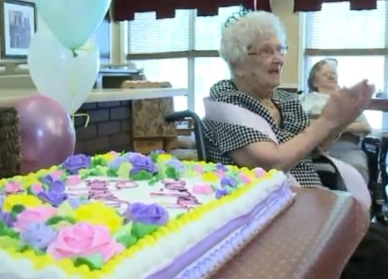 100-year-old woman says the secret to a long life is 'a lot of booze'