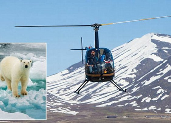 Helicopter pilot survives crash, fights off 3 bears, survives in the Arctic for two days