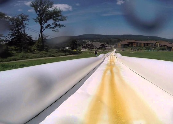 GoPro Videos Capture Two Rides Down the World's Longest Water Slide at Action Park in New Jersey