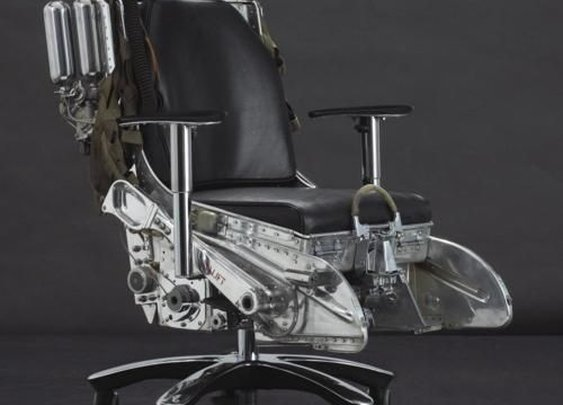 Ejector seat office chair