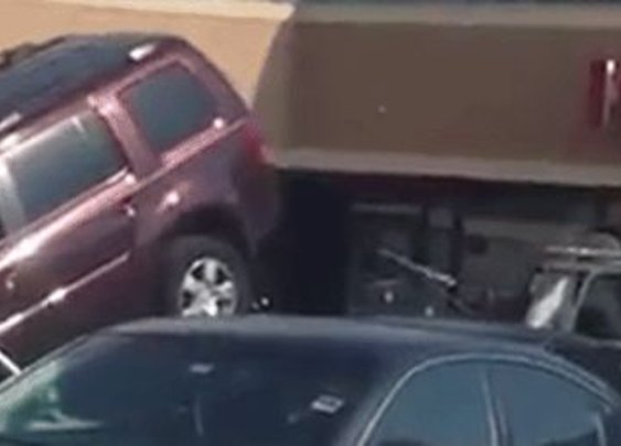 Determined Maniac Thinks He Can Win A Tug-Of-War With A Tow Truck