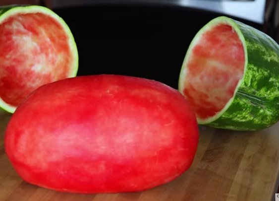 How to skin a watermelon - Tech Insider