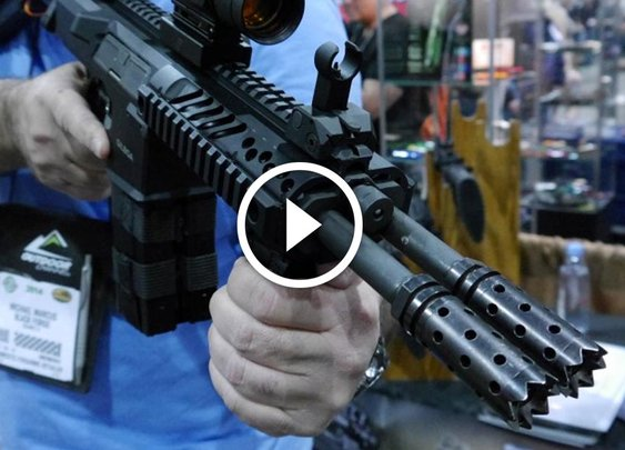 It's official, the double barreled AR-15 is going into full production for US availability