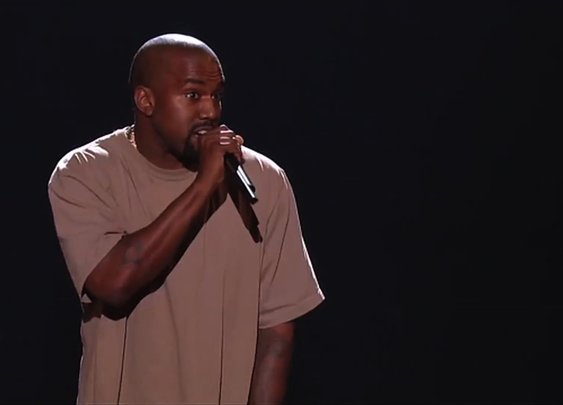Kanye West Makes His Stand-Up Comedy Debut - YouTube