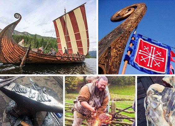 Axe throwing, sword forging – but no sacrificing – at Norway's Viking school | World news | The Guardian