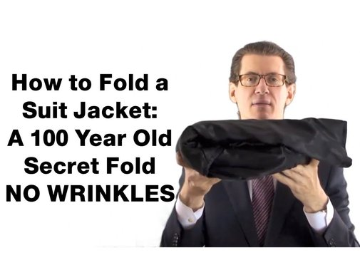 How to Fold a Suit Jacket