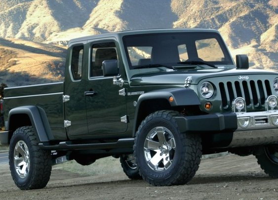 2017 Jeep Wrangler Pickup - The Manual