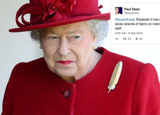 19 totally made-up facts about the Queen that we sort of wish were true